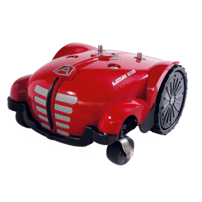 Product photo of an Ambrogio robot lawn mower